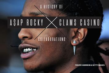 A History Of ASAP Rocky X Clams Casino Collaborations