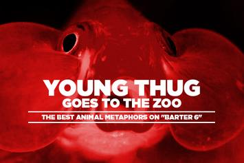 """Young Thug Goes To The Zoo: The Best Animal Metaphors On """"Barter 6"""""""