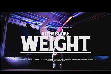 """Curren$y """"Rhymes Like Weight"""" Video"""