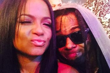 Christina Milian Got A Lil Wayne Tattoo