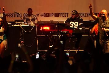 Common Brings Out Foxy Brown At The Brooklyn Hip-Hop Festival