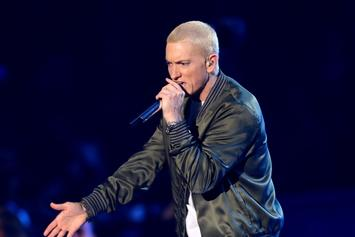 """Eminem Talks """"Southpaw,"""" Floyd Mayweather, & More In Twitter Q&A"""