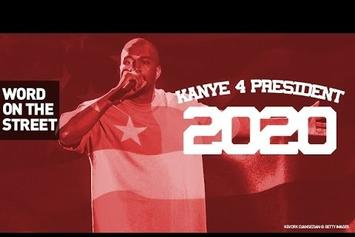 Word On The Street: Vote Kanye For President In 2020?