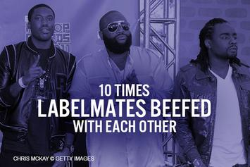 10 Times Labelmates Beefed With Each Other