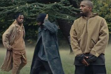 "Travi$ Scott Feat. Kanye West ""Piss On Your Grave"" Video"