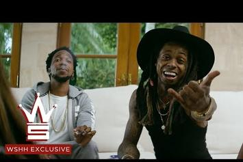 "Curren$y Feat. Lil Wayne, August Alsina ""Bottom Of The Bottle"" Video"