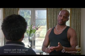 "DMX Guest Stars On ABC's ""Fresh Off The Boat"""