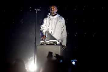 Kanye West Hits Studio With Swizz Beatz & Kendrick Lamar