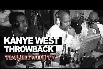 Kanye West Freestyles For Tim Westwood In 2004