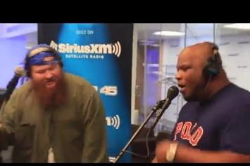 Wayne Brady Freestyles With Action Bronson, Mayhem Lauren & Alchemist