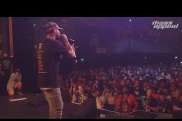 """Dave East & Nas Perform """"Forbes List"""" At SXSW"""