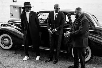 "Jay Z, Future & DJ Khaled Shoot Music Video For ""I Got The Keys"""