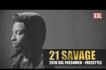 21 Savage's XXL Freshman Freestyle
