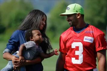 Russell Wilson Speaks About His Role As A Stepdad To Baby Future