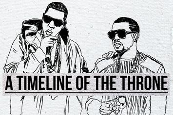 A Timeline Of The Throne: How Kanye West & Jay Z's Album Came To Be