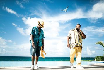 "DJ Khaled & Nas Shoot Video For ""Nas Album Done"" In Bahamas"