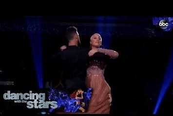 "Amber Rose Makes Her ""Dancing With The Stars"" Debut"