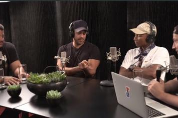 David Blaine Stuns Pharrell & Neil deGrasse Tyson With Magic Trick