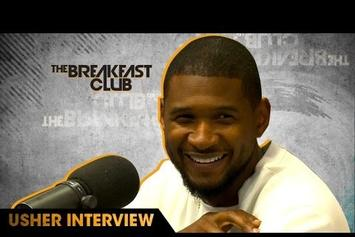 "Usher Talks ""Hard II Love,"" Infamous Steam Room Snaps, Colin Kaepernick On The Breakfast Club"