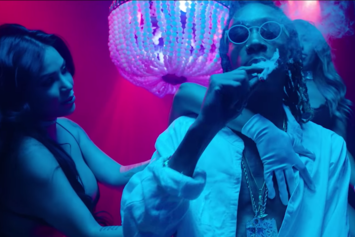 "Wiz Khalifa, Juicy J & TM88  ""Medication"" Video"
