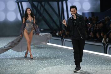 """The Weeknd Performs """"Starboy"""" At 2016 Victoria Secret """"Fashion Show"""""""