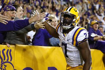 LSU's Leonard Fournette Signs With Jay Z's Roc Nation Sports