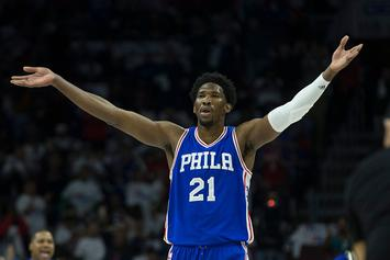 Joel Embiid Asks Fans To Vote Him To All-Star Game So He Can Get A Date With Rihanna