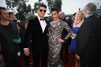 Robin Thicke Given Temporary Restraining Order Against Paula Patton & Their Son