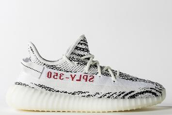 """Zebra"" Adidas Yeezy Boost 350 V2 Release Date Confirmed For February"