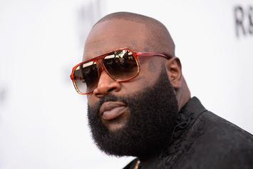 Rick Ross Says He Threw Up Multiple Times While Partying With Rob Gronkowski