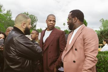 Diddy Hosts Jay Z, DJ Khaled & More At Roc Nation Brunch