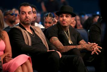 Chris Brown Reportedly Drugged & Out Of Control Since Manager Quit