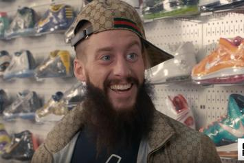 Watch WWE Superstar Enzo Amore Go Sneaker Shopping At Stadium Goods In NYC