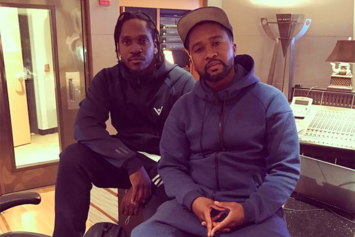Pusha T & Zaytoven Spotted In The Studio