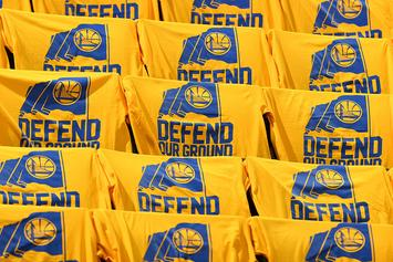 """Cleveland Cavaliers' Twitter Calls Out Warriors For Using """"Defend Our Ground"""" Slogan"""