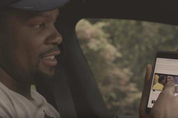 """Kevin Durant Reacts To The Draymond Green Gifs In """"Still KD"""" Episode 2"""