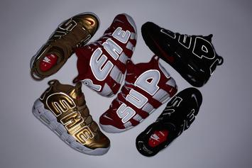 Supreme x Nike Air More Uptempo Restock Going Down Tomorrow
