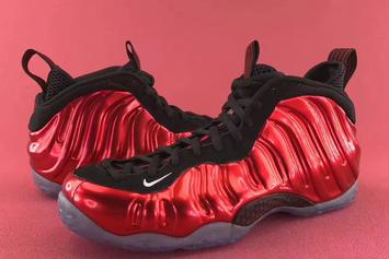 "The ""Metallic Red"" Nike Foamposite One Is Making A Return Next Month"