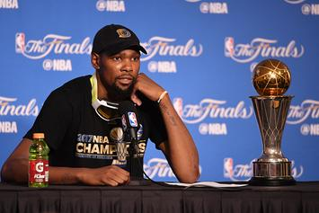 """Kevin Durant Takes Jab At Sixers Over """"FEDS"""" Nickname"""