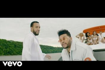 """French Montana Feat. The Weeknd, Max B """"A Lie"""" Video"""