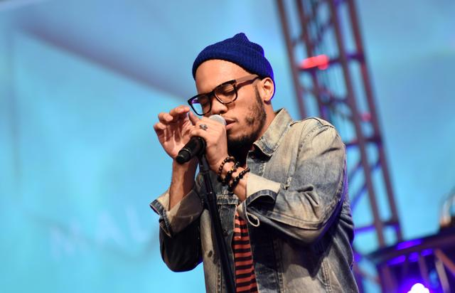 Anderson .Paak performs with Free Nationals Band
