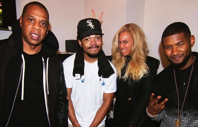 Chance The Rapper Jay Z Beyonce Usher