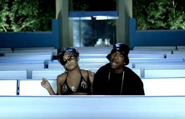 "Ashanti and Ja Rule in ""Always on Time"" music video"
