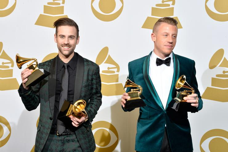 Macklemore & Ryan Lewis at the 2014 Grammys