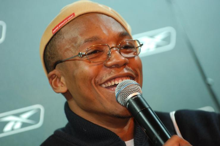Lupe Fiasco at a reebok event in 2006