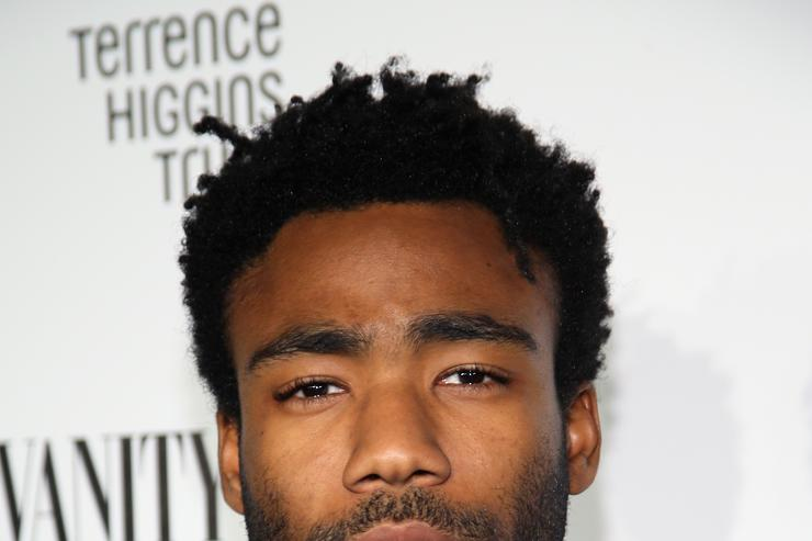Actor Donald Glover attends Relativity Media's special screening of 'The Lazarus Effect' at Hollywood Forever on February 17, 2015 in Hollywood, California. (Photo by Rich Polk/Getty Images
