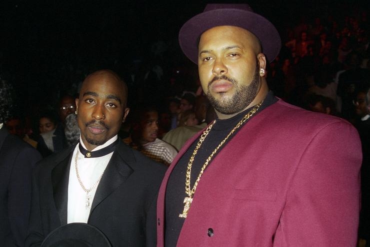 Tupac and Suge Knight