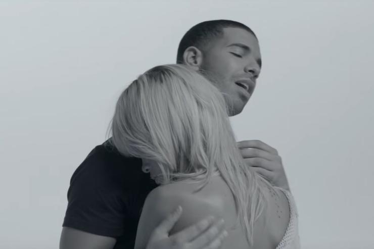 """Drake and Rihanna in the """"Take Care"""" music video"""