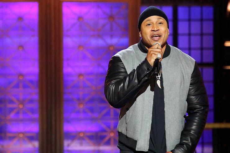 Host LL Cool J onstage during Spike TV's Lip Sync Battle: All Stars Live on September 11, 2016 in Studio City, California.