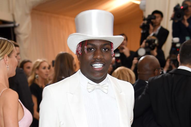 Lil Yachty at met gala 2017